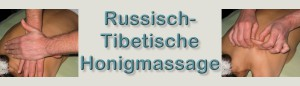 Russisch tibetische Honigmassage